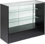 "Full Vision Showcase Display Cabinet 48""x18""x38"""